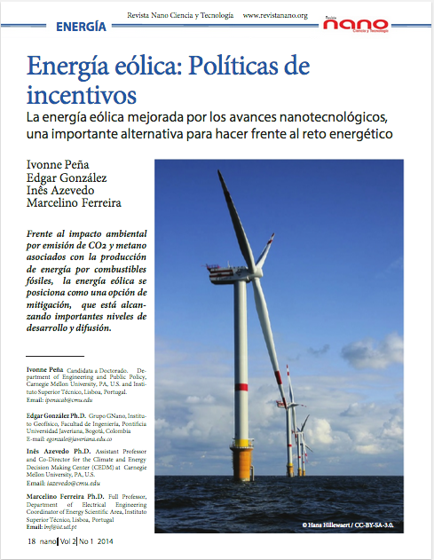 Energía eólica: Políticas de incentivos.
